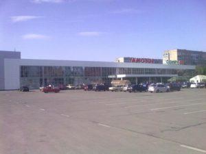 Открыть торгово-развлекательных комплекс на базе бывшего здания компании «Амстор» в Петровском районе города Донецка