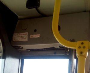 Сделать обязательной установку кнопки «Связь с водителем» в общественном транспорте